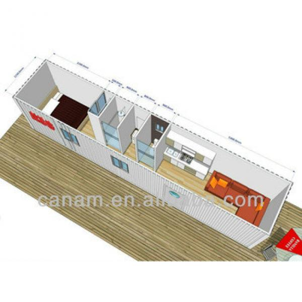 deluxe and luxury modified ocean container cabin for traveller #1 image