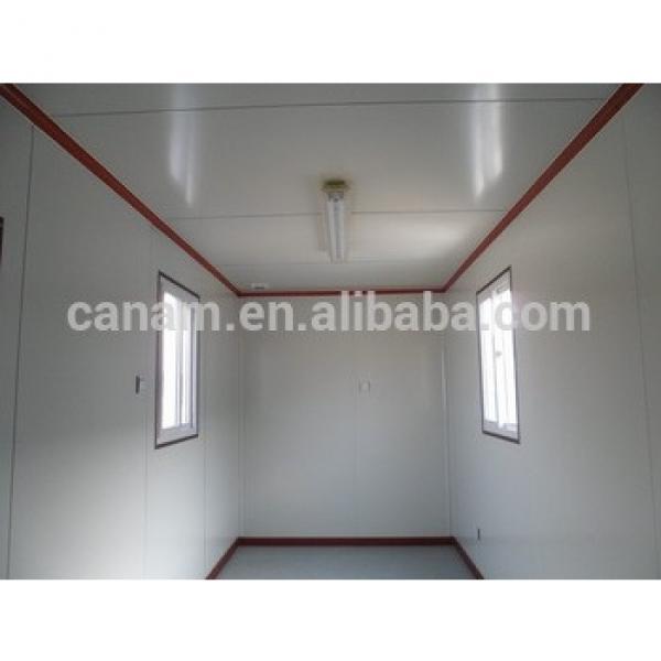 Moveable prefab 50m2 prefab house plan #1 image