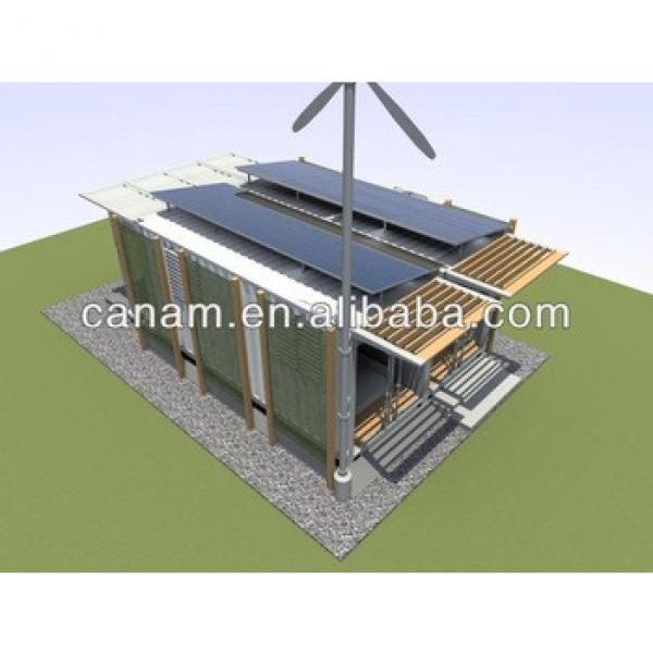 CANAM- modular kit container house with canopy #1 image