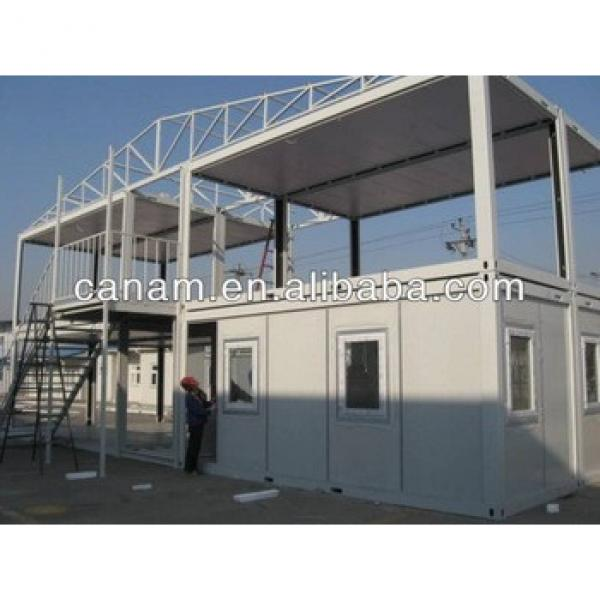 CANAM- 2 storey mobile modular containers house #1 image