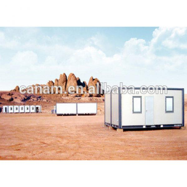 Small movable self-made container office living house with 2 windows #1 image