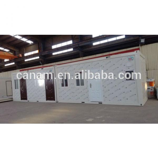 Prefabricated low cost modular flat pack 20ft modular house #1 image