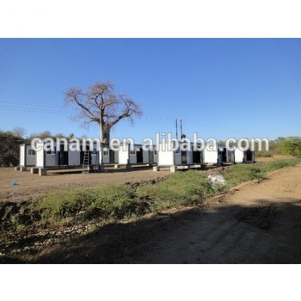prefabricated movable modern flat pack 20ft container house #1 image