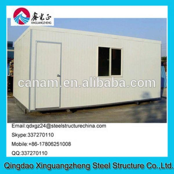 Steel structure sandwich panel wall container refugee tent red cross refugee tent #1 image