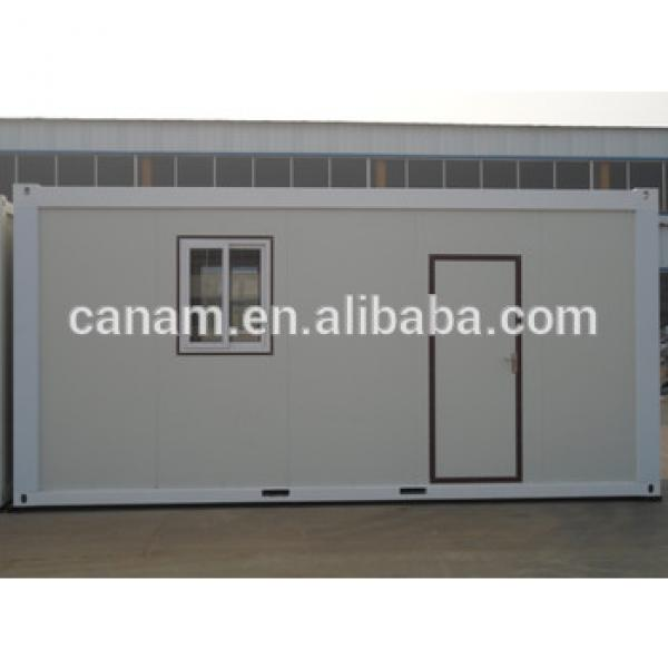 Living container house with glasswool wall and roof #1 image