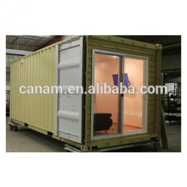 Steel structure container living house 20ft container house dormitory rooms #1 image