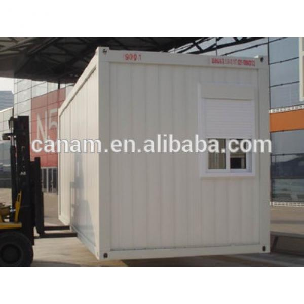 Prefab container house flat pack modified house with small window #1 image