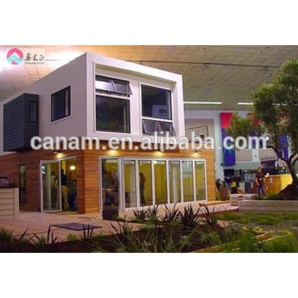 ISO/BV steel structure container steel structure house 40ft contaienr prefab living house #1 image