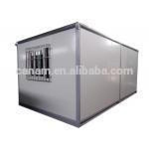 CANAM-Low cost light steel prefabricated modern 1 bedroom prefab container home #1 image