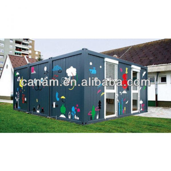 CANAM-Durable multiple functions galvanized steel sheet log cabin #1 image