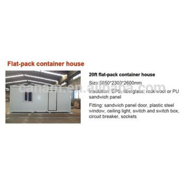CANAM-flat pack container house in tamilnadu price for sale #1 image