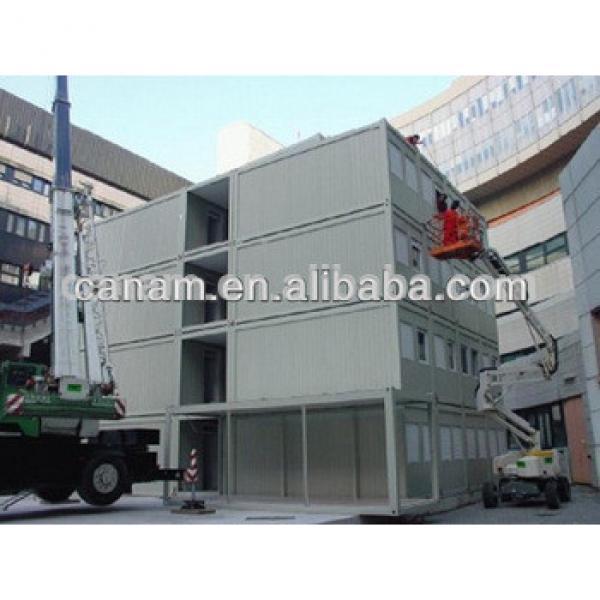 CANAM-Modern log prefabricated light steel villa house plastic for sale #1 image