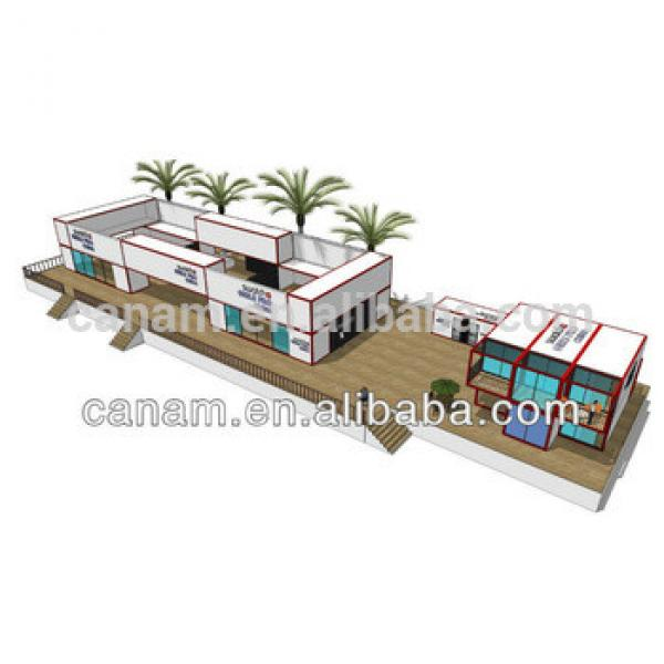 CANAM-Well designed prefabricated duplex house for sale #1 image