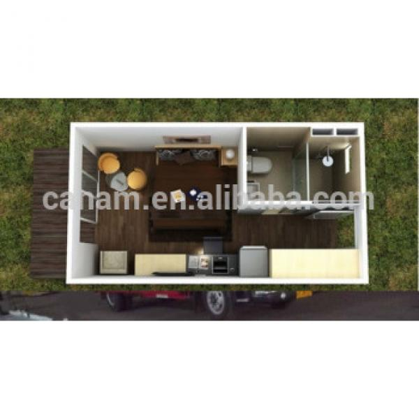CANAN-Low cost light steel prefabricated modern 1 bedroom container house for sale #1 image