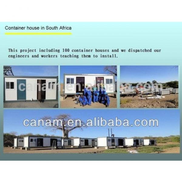 CANAM- Modular Steel and Sandwich prebuilt Container house for sale #1 image