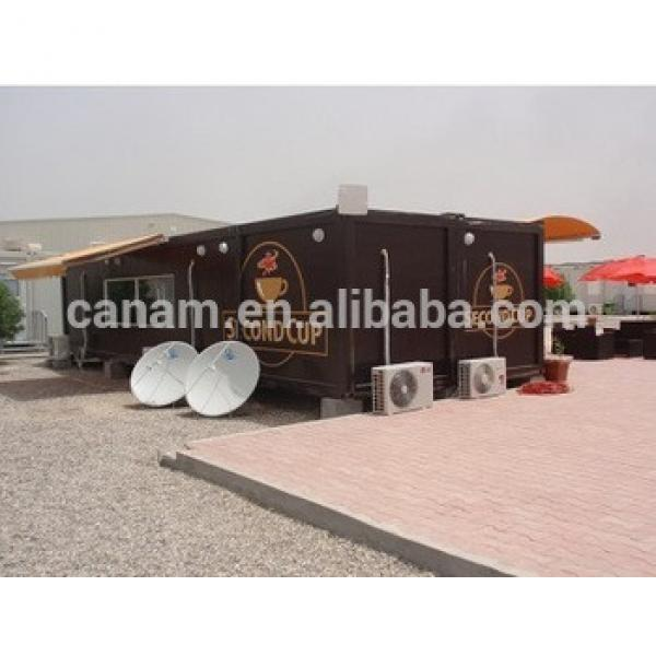 CANAM-Prefab coffe bar container kit homes for sale usa #1 image