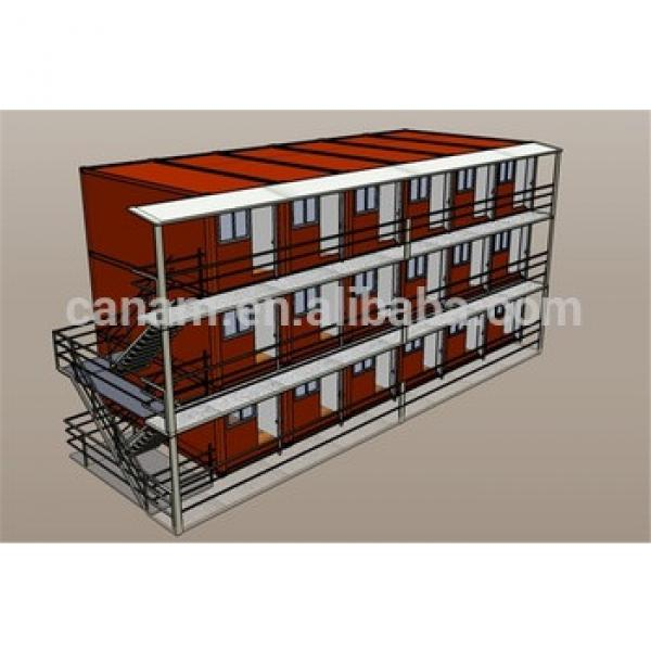 CANAM-Modular Prefab Steel Frame sandwich Panel Warehouse Shed #1 image