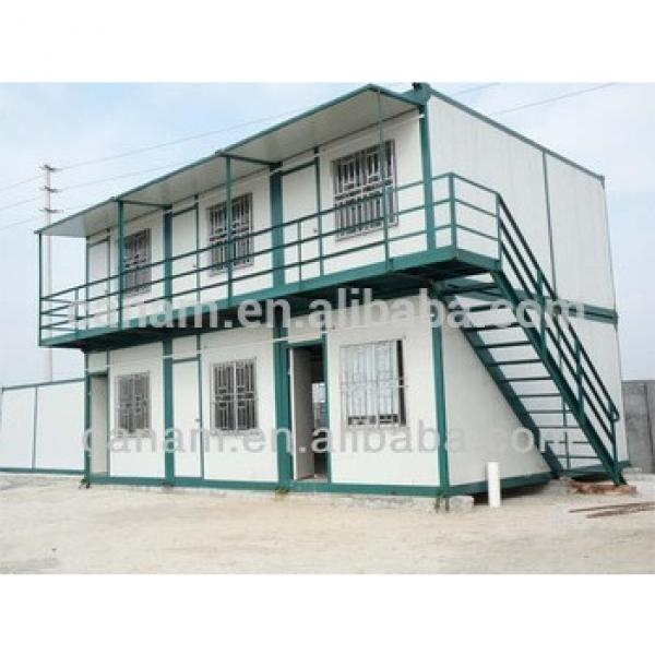 CANAM-Modular prefab container house steel foundation #1 image