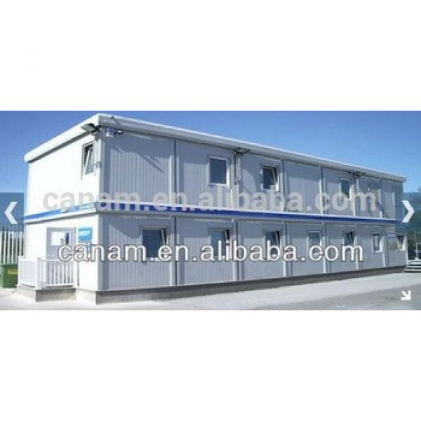 CANAM-luxury prefabricated container log wood house villa design #1 image