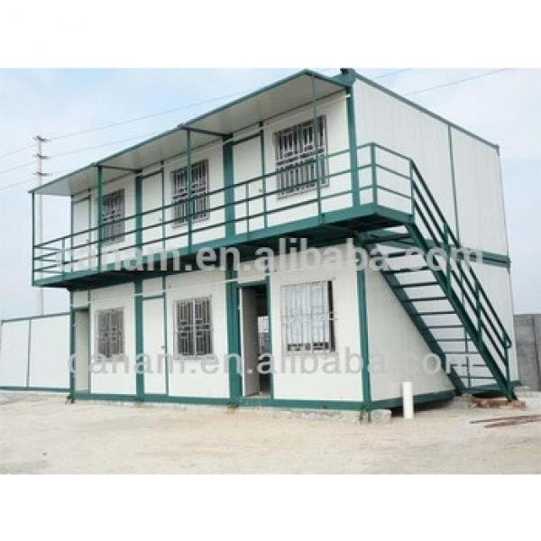 CANAM-modular steel structure container houses in Ghana #1 image