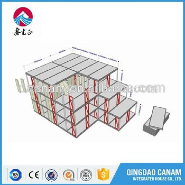 Prefab Modern 40ft shipping container house in china #1 image