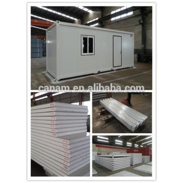 Fashionable flat roof sandwich panel prefab club house #1 image