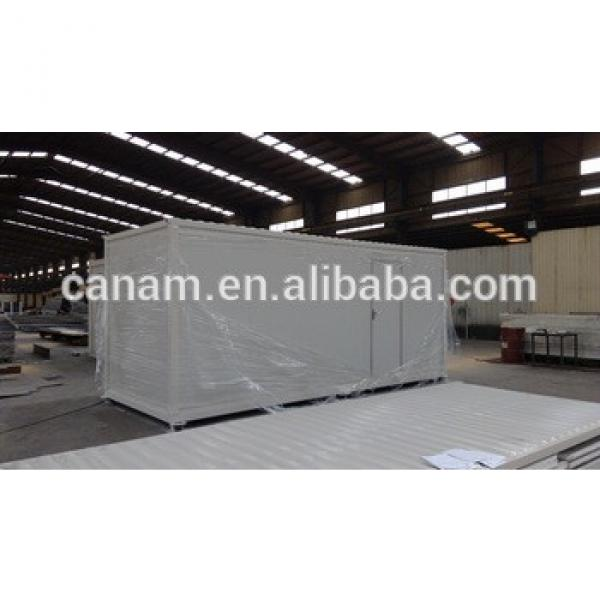 good quality low cost prefabricated container house refugee camp #1 image