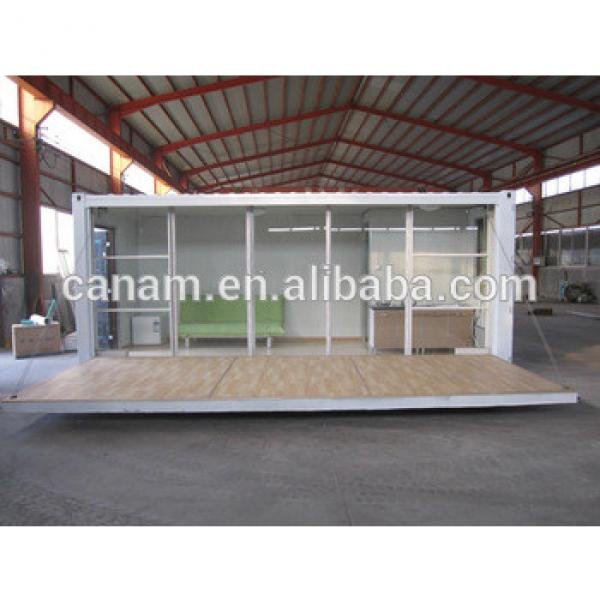 Side opening prefab container house price #1 image