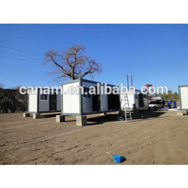 low cost sandwich panel prefab duplex container house #1 image