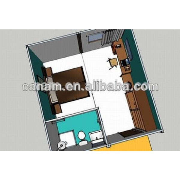 Multi-Floor Good Quality Movable prefab pool house for Dormitory/Living #1 image