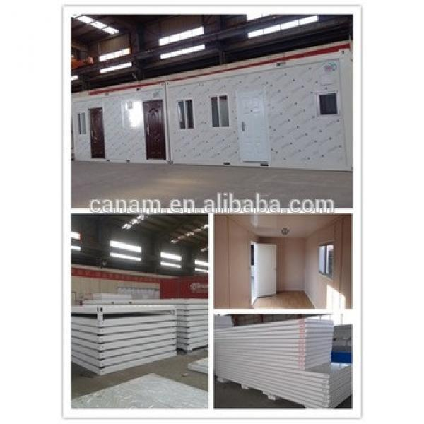 Chinese 20ft prefabricated container house price --- Canam #1 image