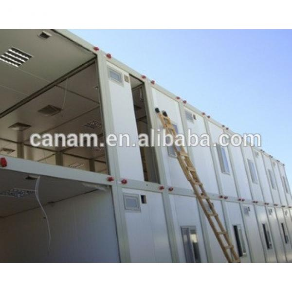 20 ft standard prefabricated container house price for dormitory #1 image