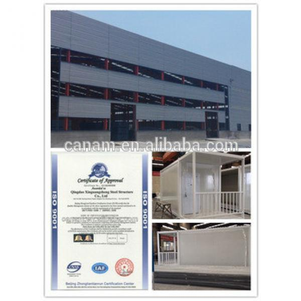 China prefabricated container houses for sale --- Canam #1 image