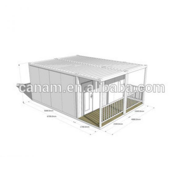 Flat pack living container house price --- Canam #1 image