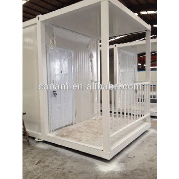 20ft low cost prefab container house for living #1 image