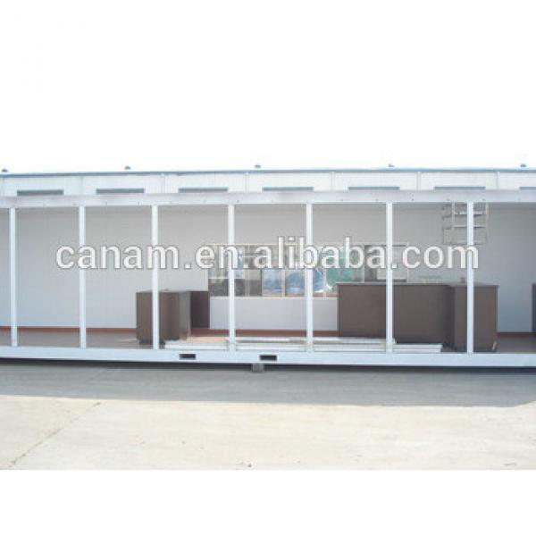 20ft/40ft prefabricated moving container house for coffee shop #1 image