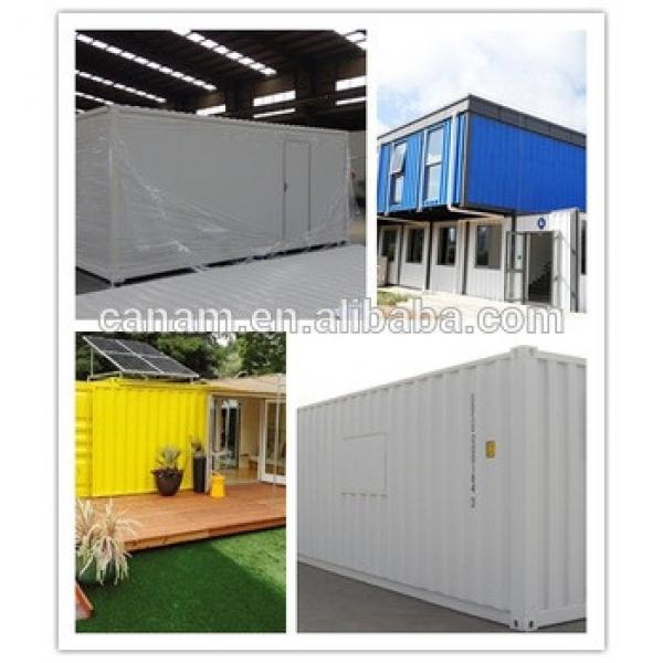 20ft/40ft modified container office/ flat pack container house #1 image