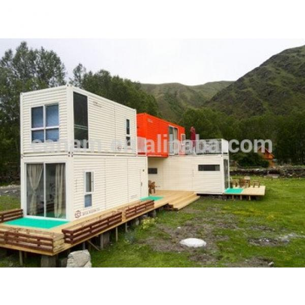 2016 newest mobile prefab container house with dome house #1 image