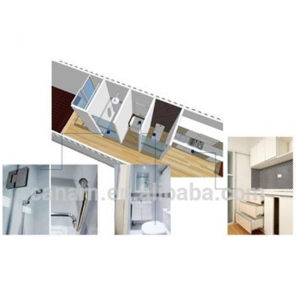 expandable prefab modular guest house #1 image