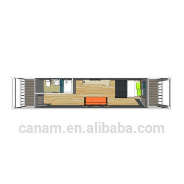 20ft temporary homes, container house with EPS sandwich panel #1 image