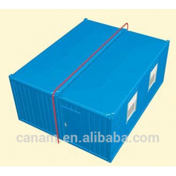 20ft furnished steel structure sandwich panel container house #1 image