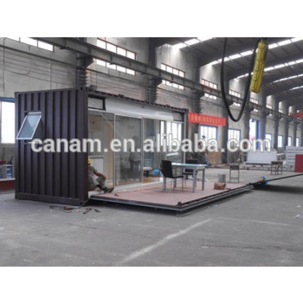 CANAM-modular shipping container restaurant #1 image