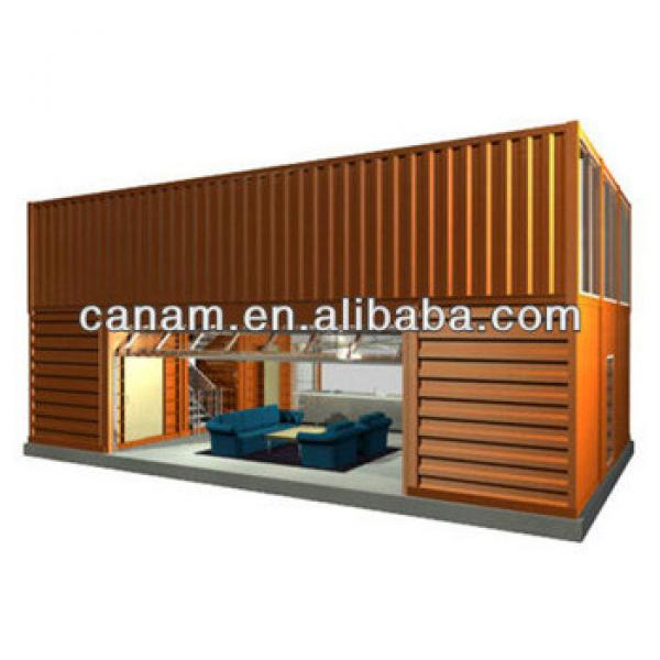 CANAM- hot selling prefabricated small & medium size residential home #1 image