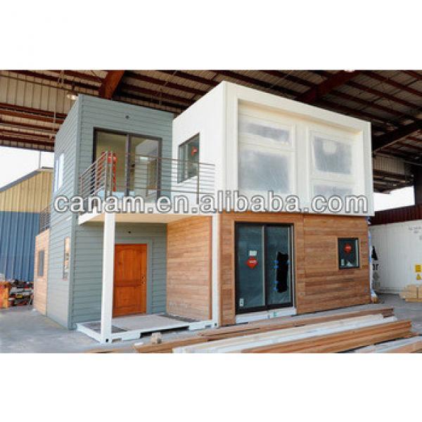 CANAM- 3 bedroom with loft modern prefab log cabin #1 image