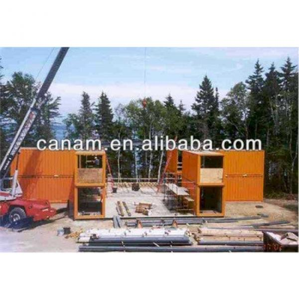 CANAM- wind proof modular house for construction camp #1 image
