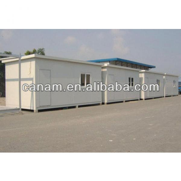 CANAM- fiberglass flat roof panel container house #1 image