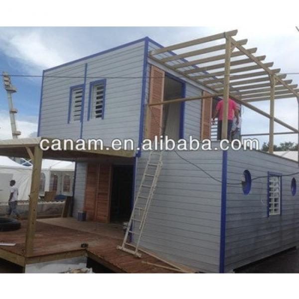 CANAM- prefabricated 20ft container house office #1 image