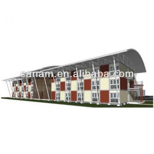 CANAM- 40ft steel framing container cabins for dormitory #1 image