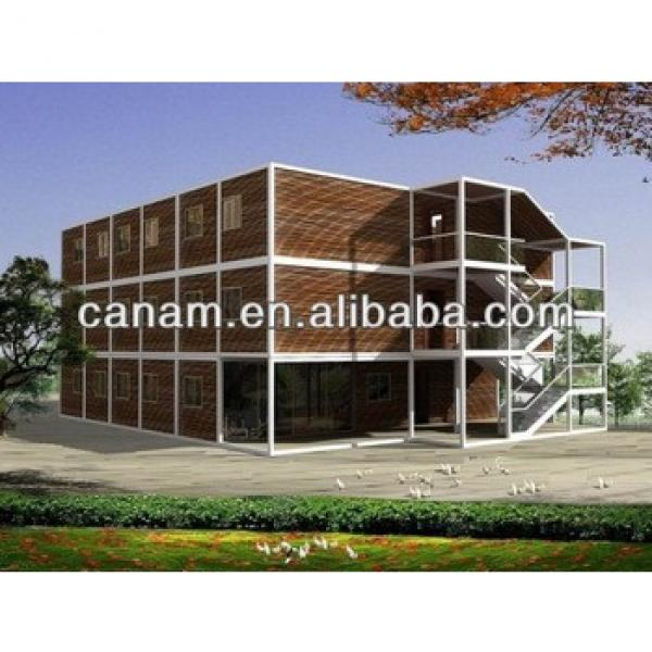 CANAM- 20' Office Container House, 20ft container dormitory #1 image