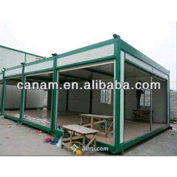 canam- well decorated cheap prefab modular container house/homes #1 image